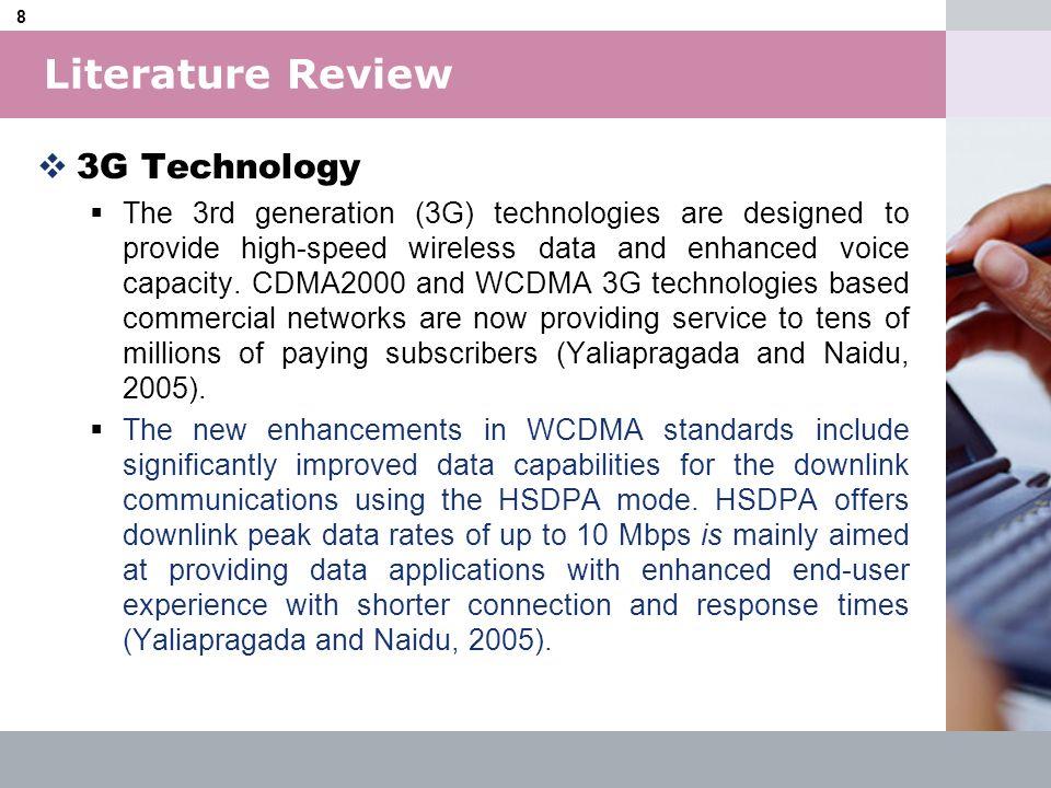LOGO 9 3G Evolution Literature Review
