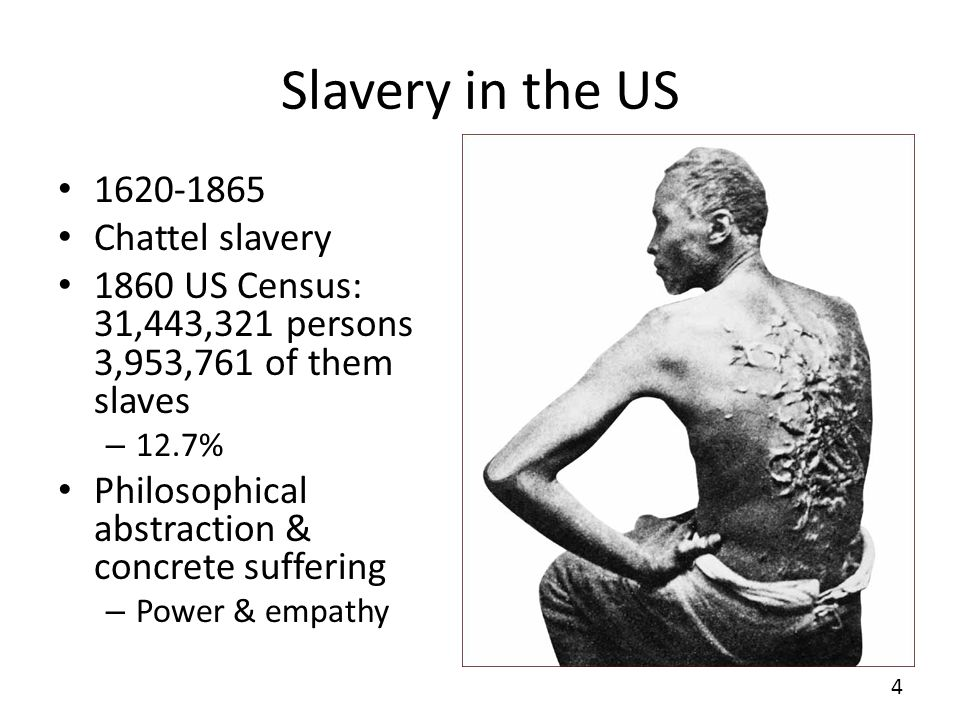 Slaves North & South The difference between us is, that our slaves are hired for life and well compensated; there is no starvation, no begging, no want of employment among our people, and not too much employment either.