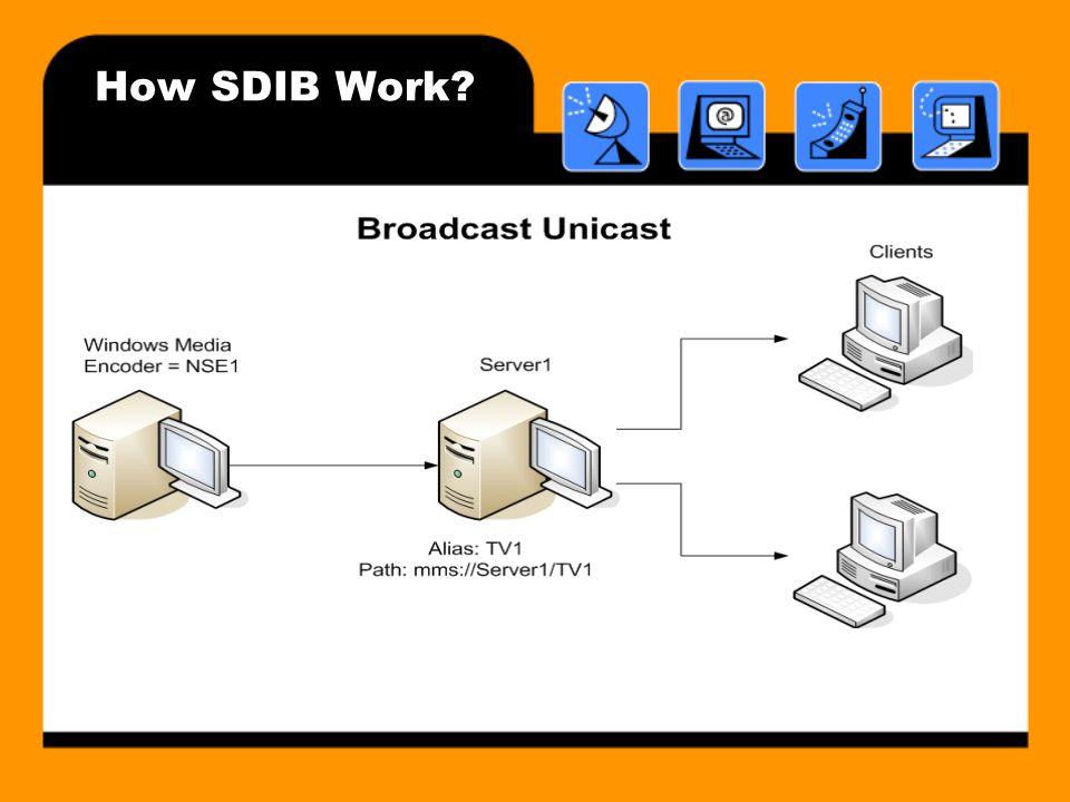 How SDIB Work