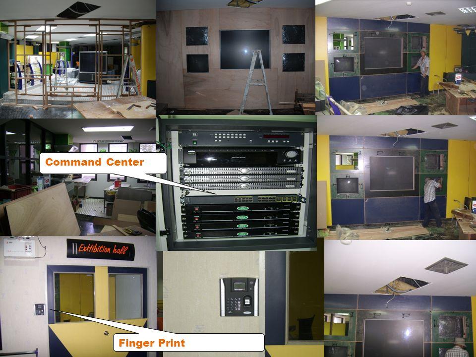 Finger Print Command Center