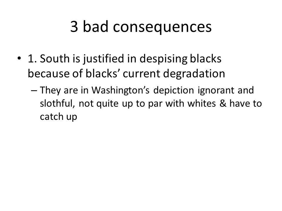 3 bad consequences 1.
