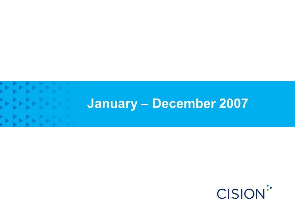 January – December 2007