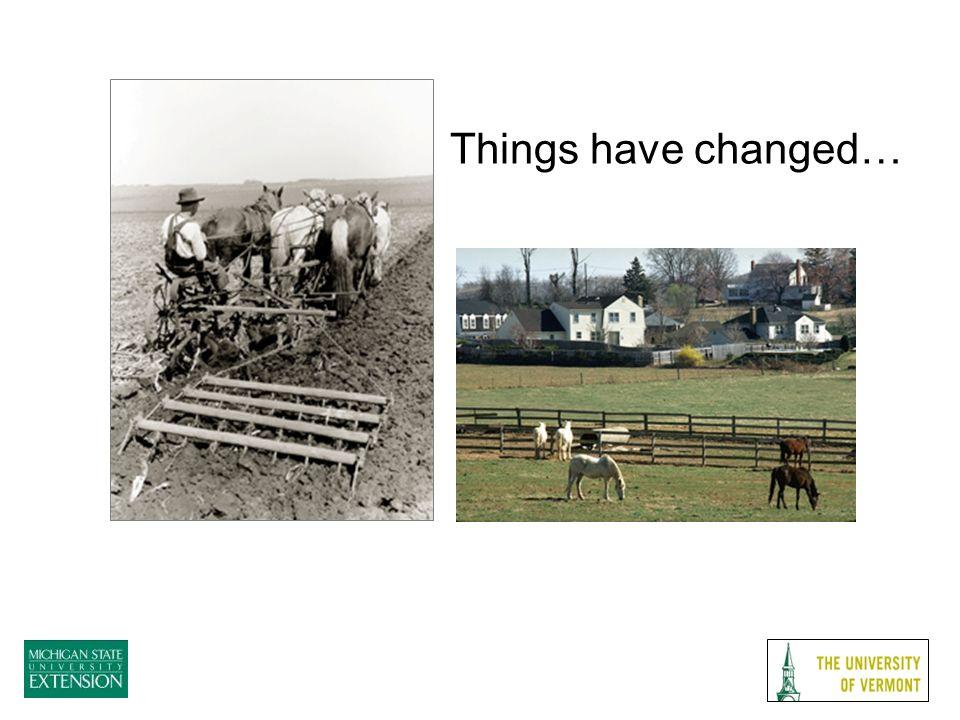 Land Access Urban Sprawl –Unfriendly horse zoning Neighbor complaints –Manure –Decreased trail access