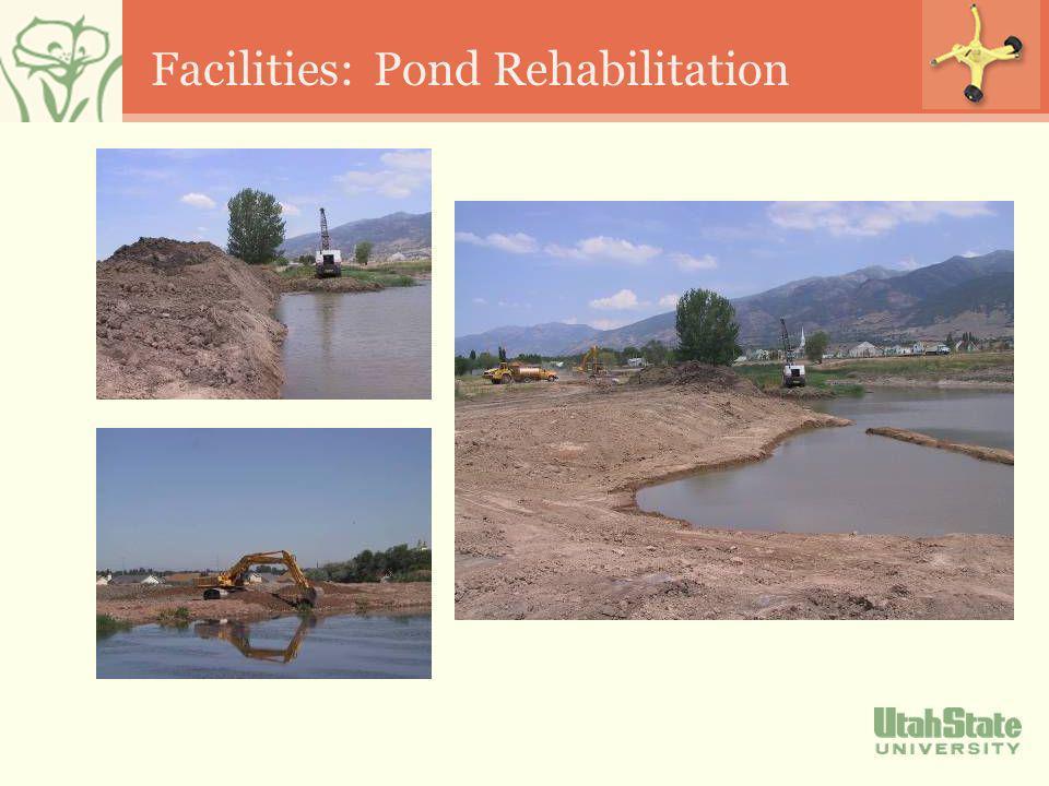 Facilities: Pond Rehabilitation