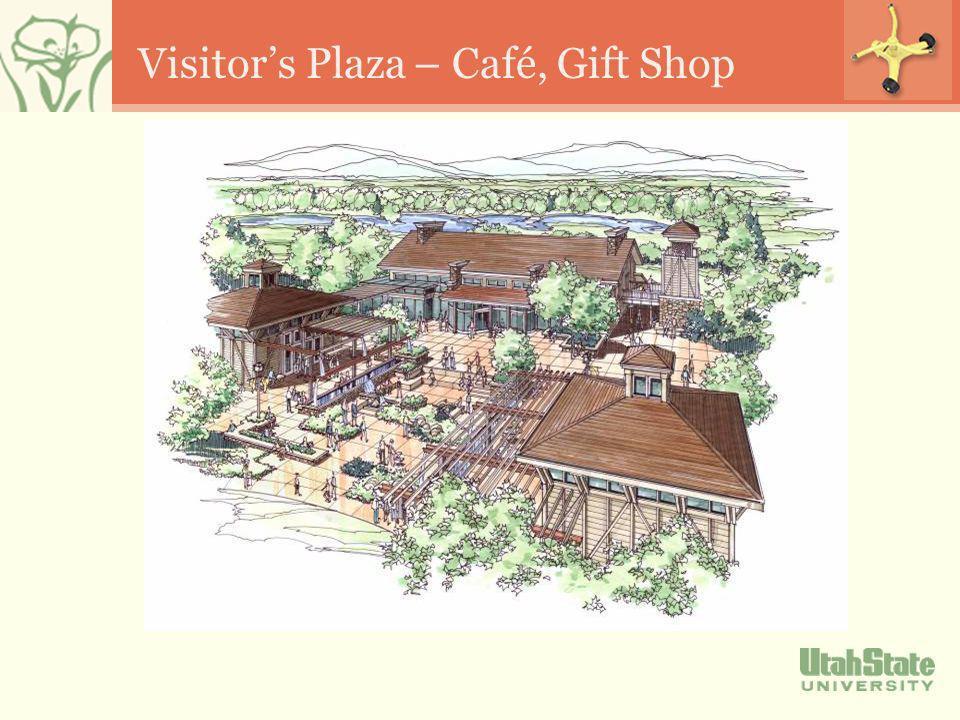 Visitors Plaza – Café, Gift Shop