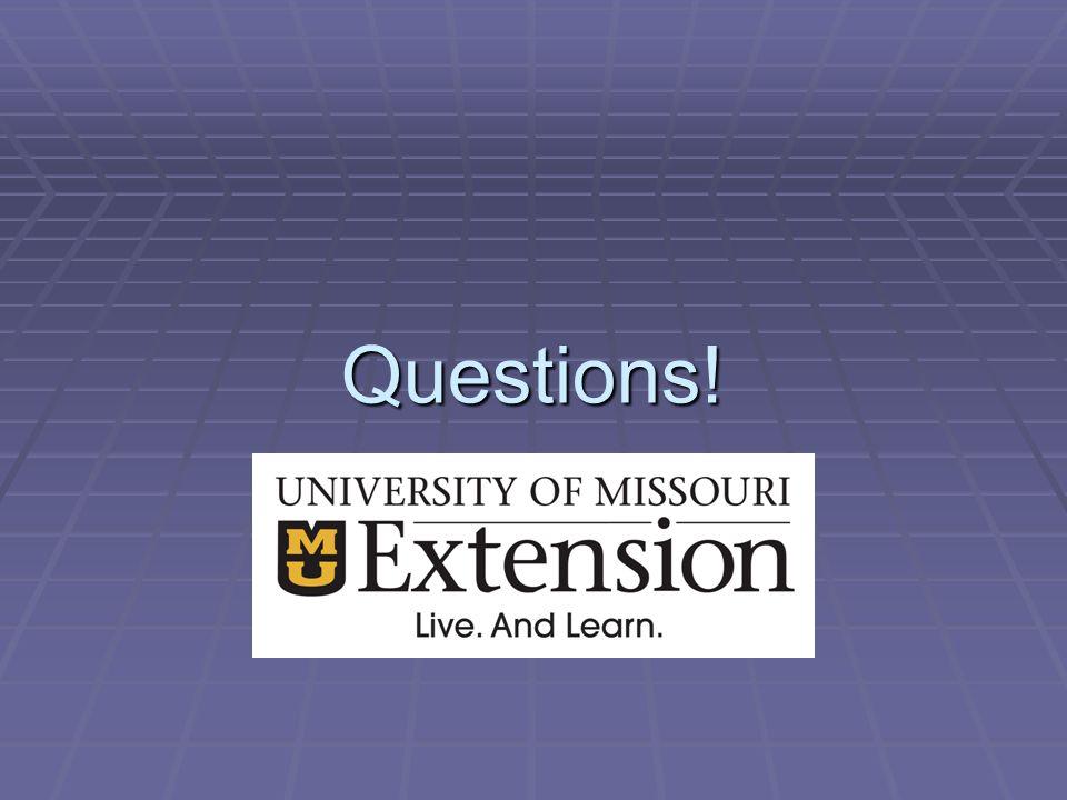 Questions!