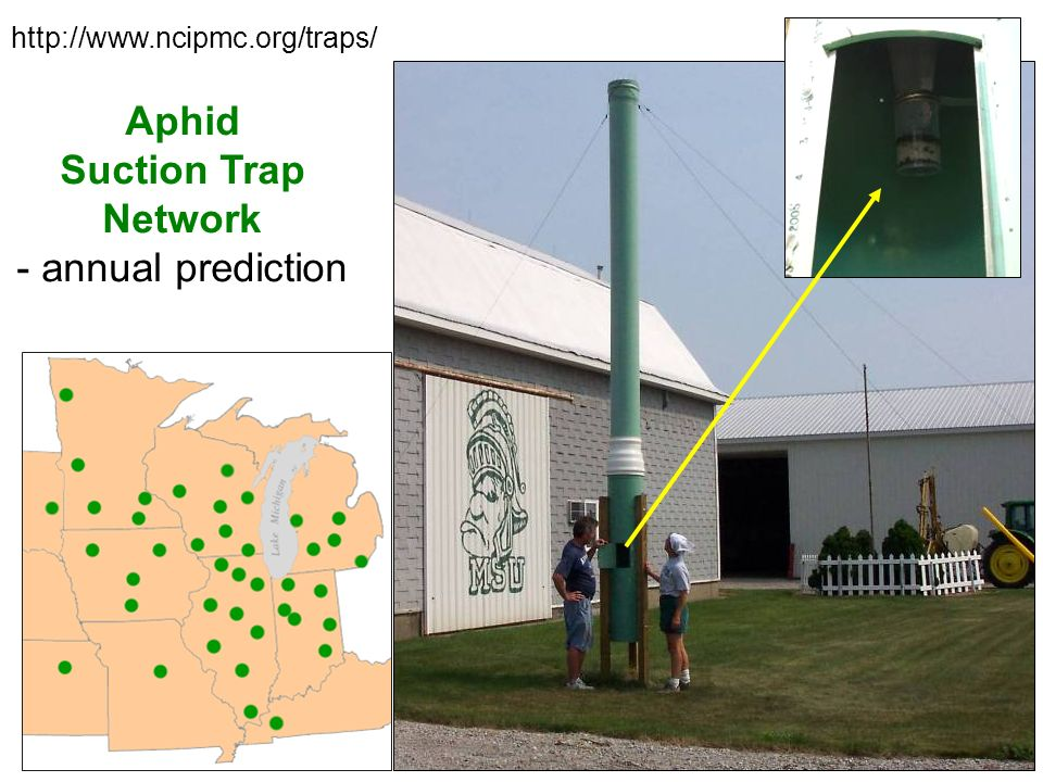 Aphid Suction Trap Network - annual prediction http://www.ncipmc.org/traps/