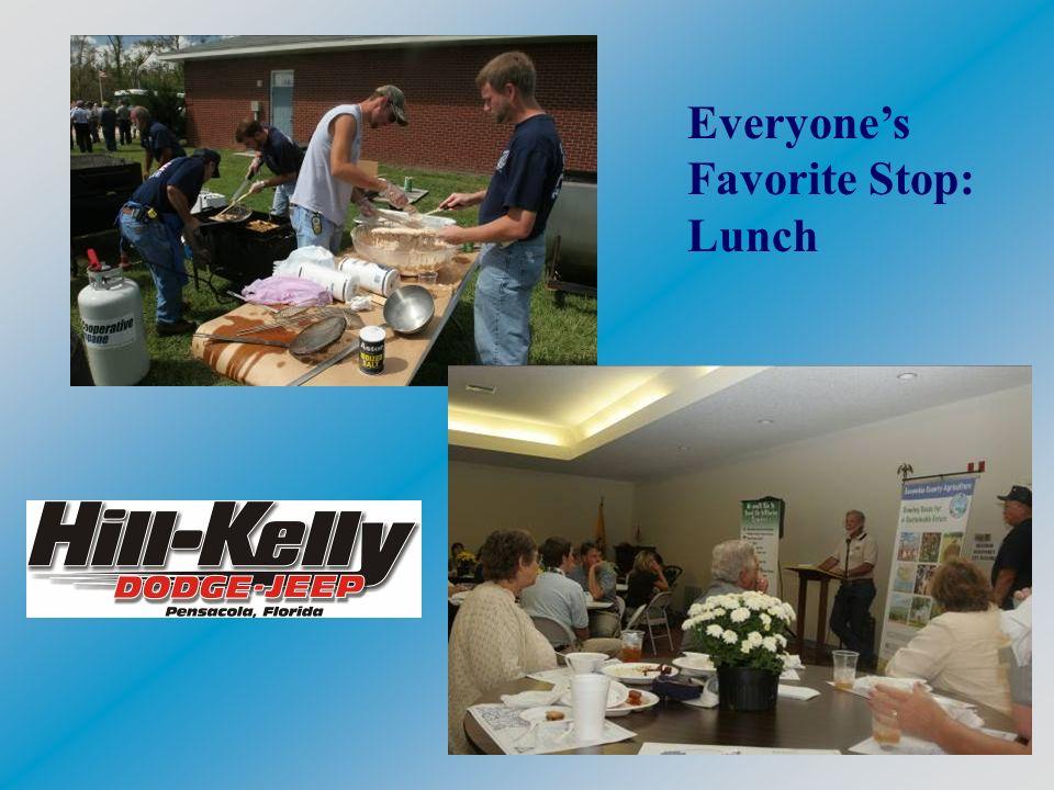 Everyones Favorite Stop: Lunch