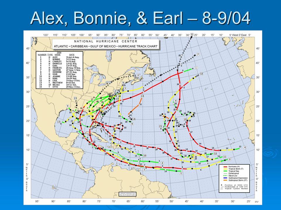 Alex, Bonnie, & Earl – 8-9/04