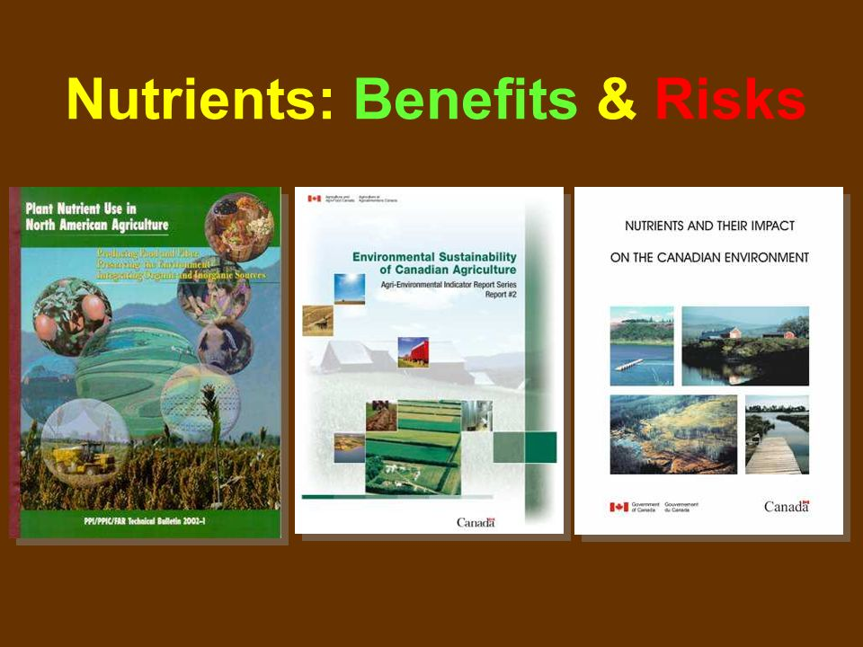 Nutrients: Benefits & Risks
