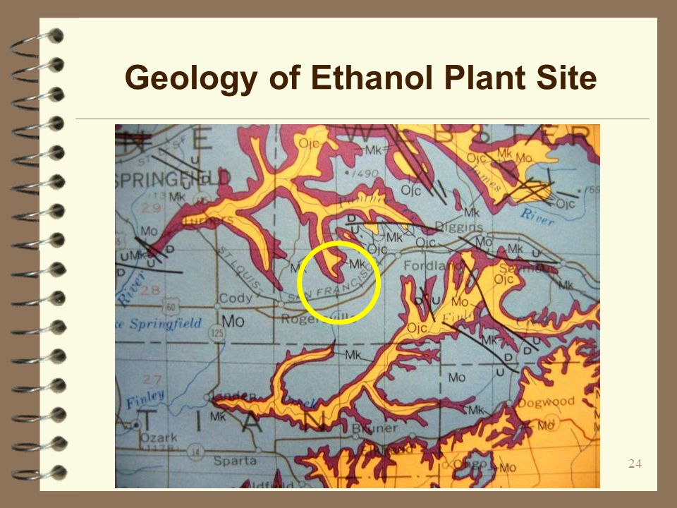 24 Geology of Ethanol Plant Site