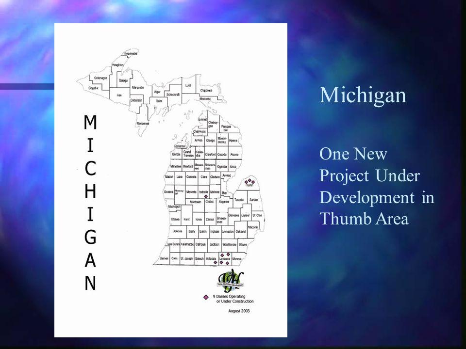 Michigan One New Project Under Development in Thumb Area