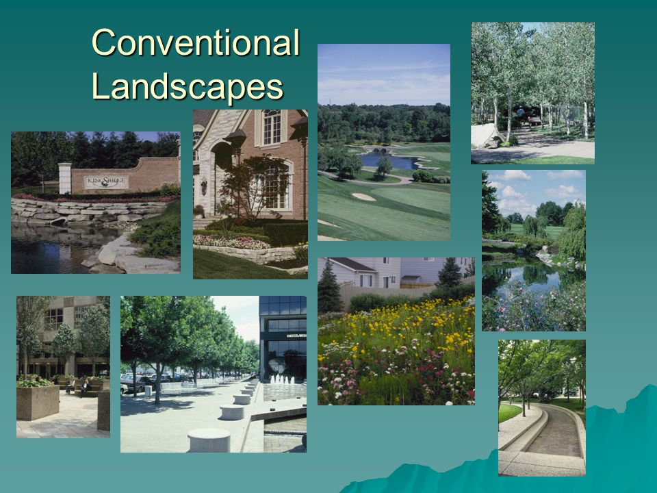 Conventional Landscapes
