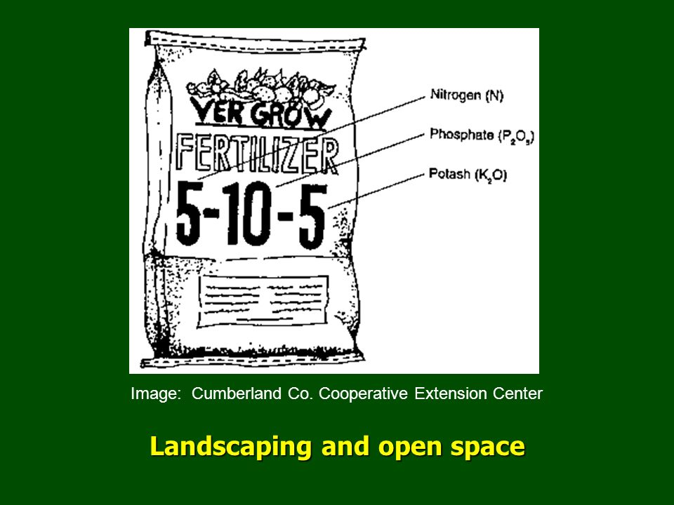 Landscaping and open space Image: Cumberland Co. Cooperative Extension Center