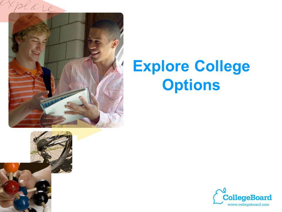 Explore College Options