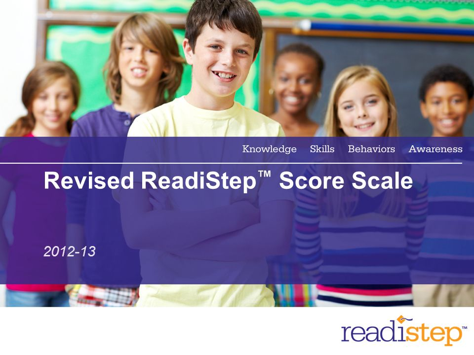 2 Revised ReadiStep Score Scale 2012-13