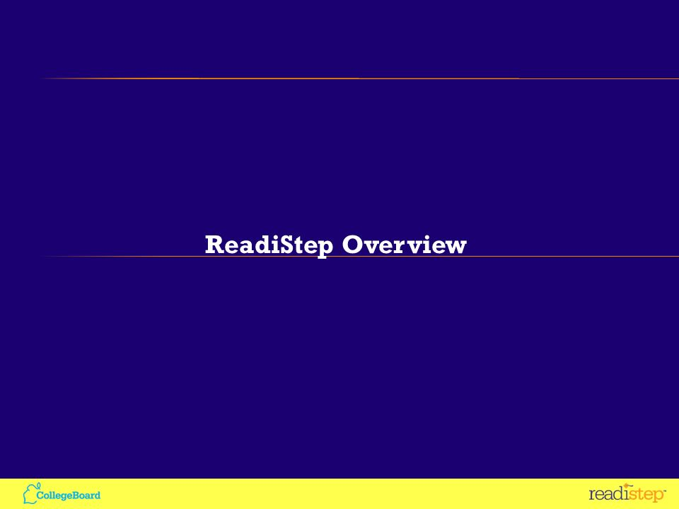 ReadiStep Overview