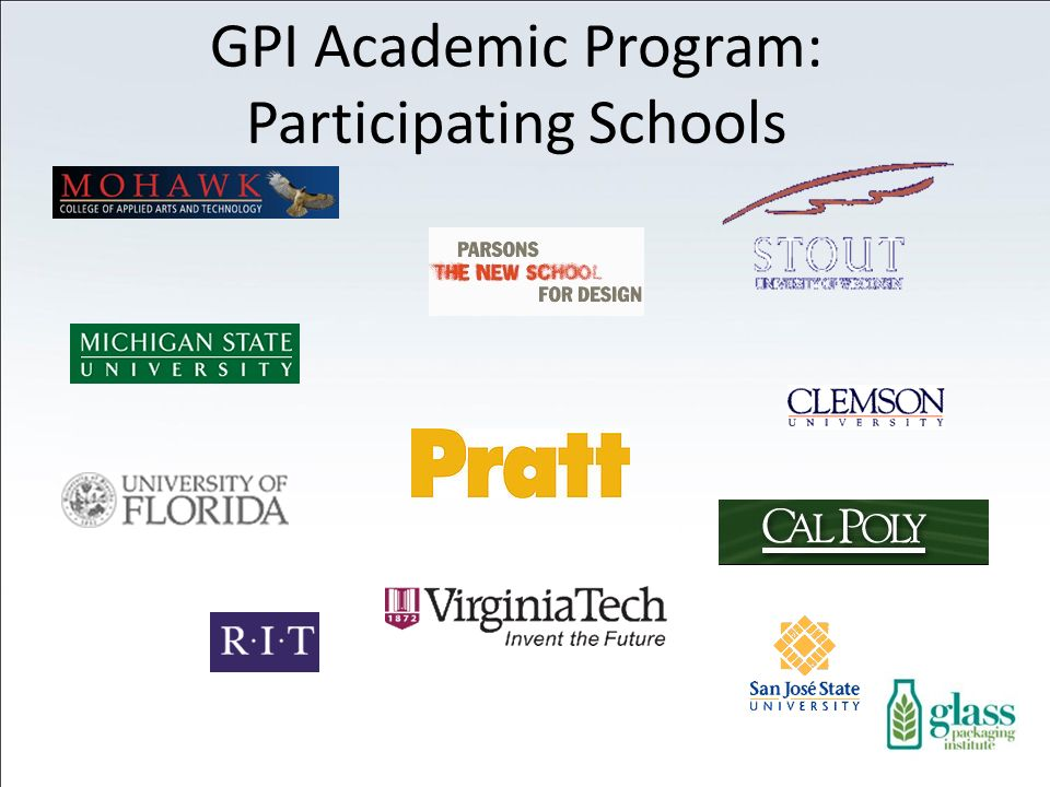 GPI Academic Program: Participating Schools