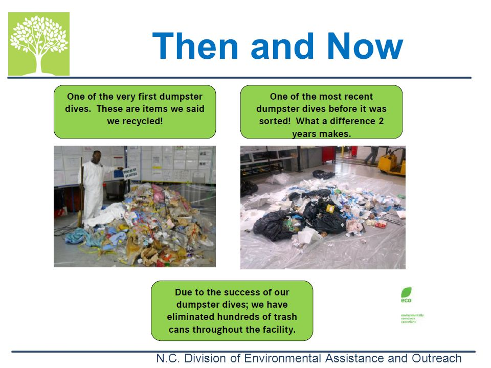 N.C. Division of Environmental Assistance and Outreach Then and Now