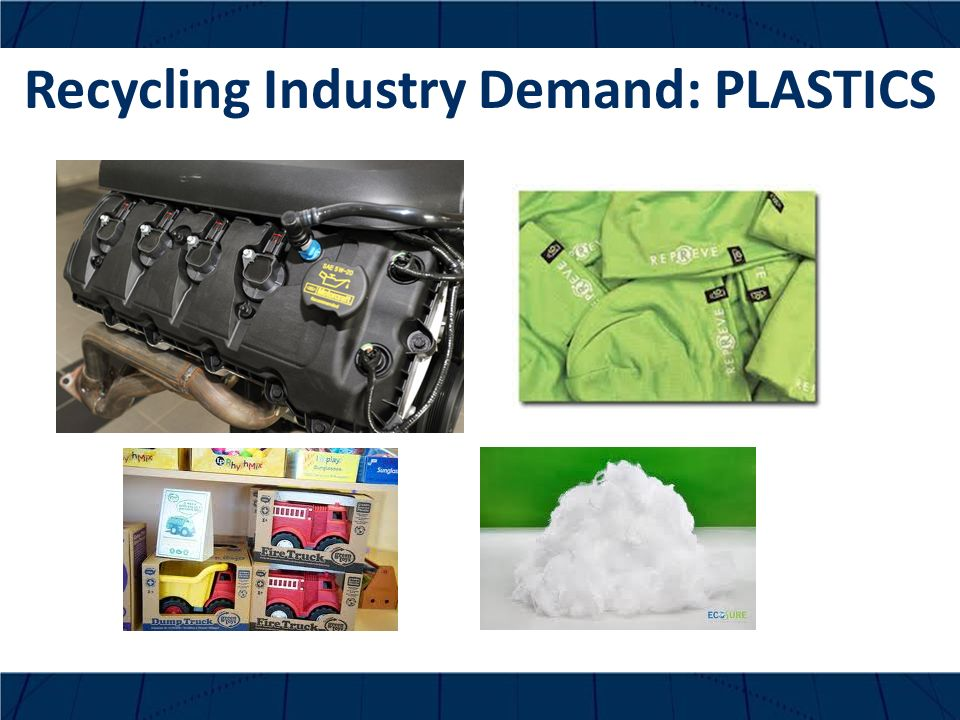 Recycling Industry Demand: PLASTICS