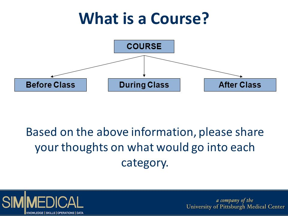 What is a Course.
