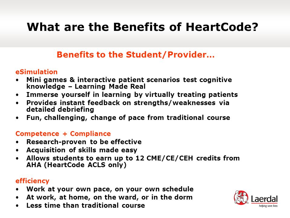 What are the Benefits of HeartCode.
