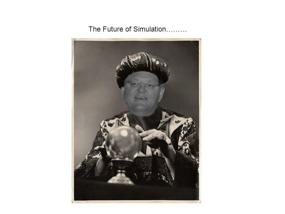 The Future of Simulation………