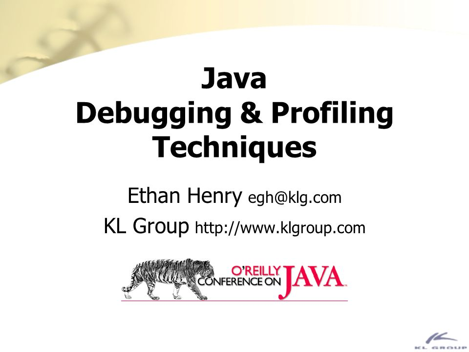 Optimization Even though optimization isnt always enough, its a good place to start Java is designed to be optimized by the JVM, not by the compiler –even though there are optimizing compilers JIT compilers help Suns next-generation JVM, HotSpot, offers: –generational garbage collection –improved, profiling native compiler