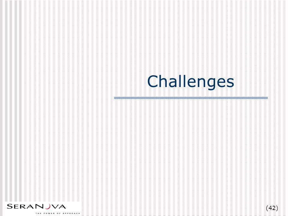(42) Challenges