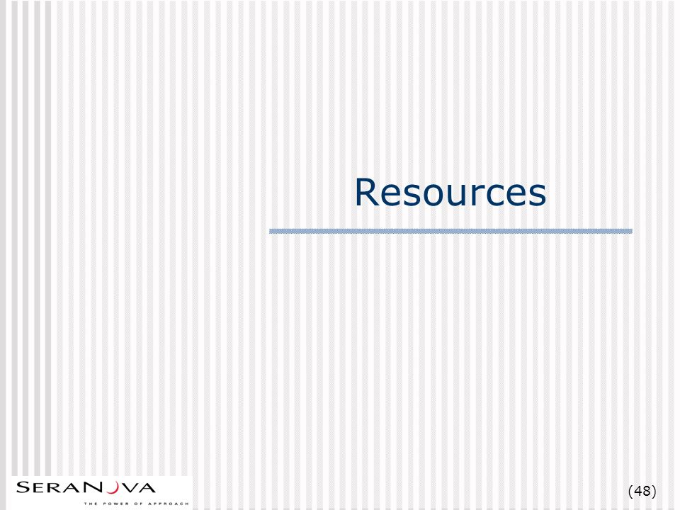 (48) Resources