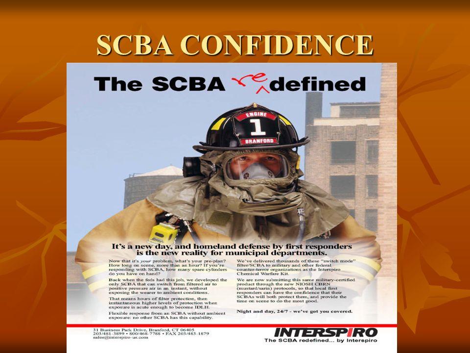 SCBA CONFIDENCE