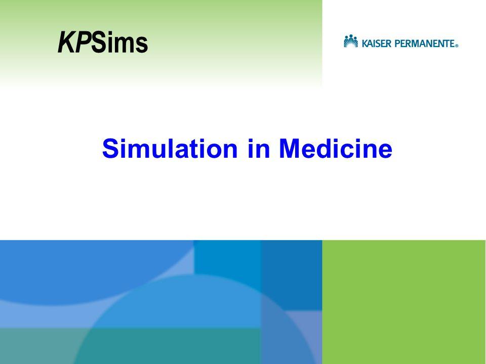 Simulation in Medicine KP Sims