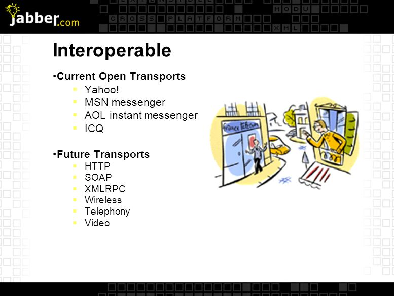Interoperable Current Open Transports Yahoo.