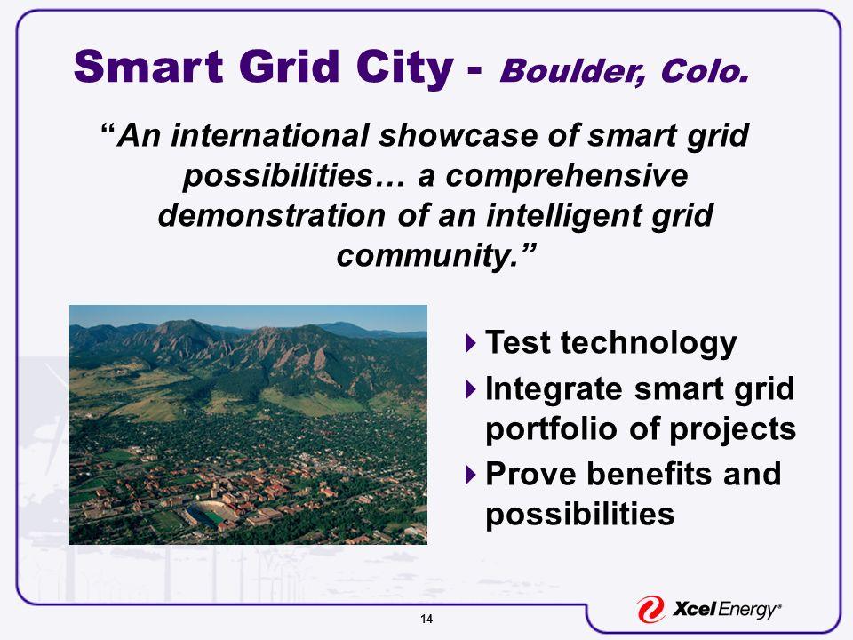 14 Smart Grid City - Boulder, Colo.