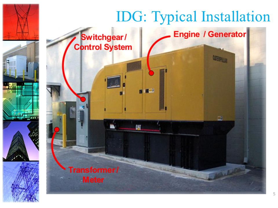 5 IDG: Typical Installation