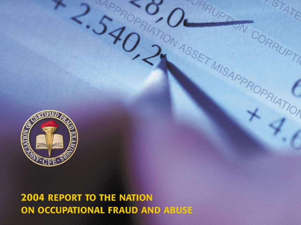52 How Occupational Fraud is Committed The median loss figure for fraudulent statements was much lower than we expected and was significantly lower than what was reported in our 2002 study.