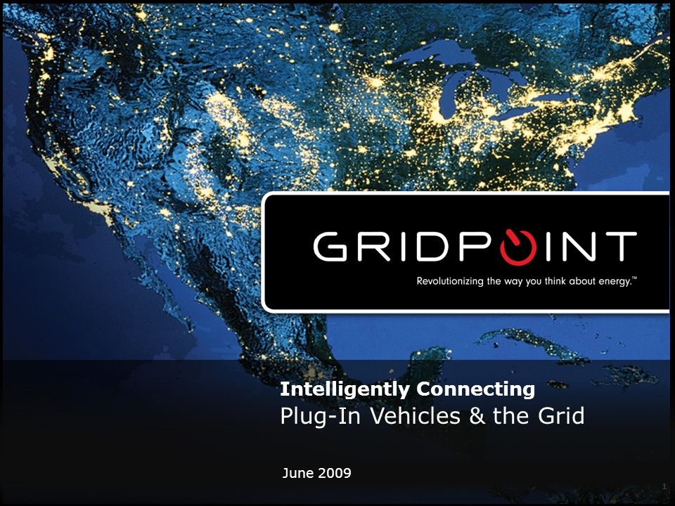 June Intelligently Connecting Plug-In Vehicles & the Grid