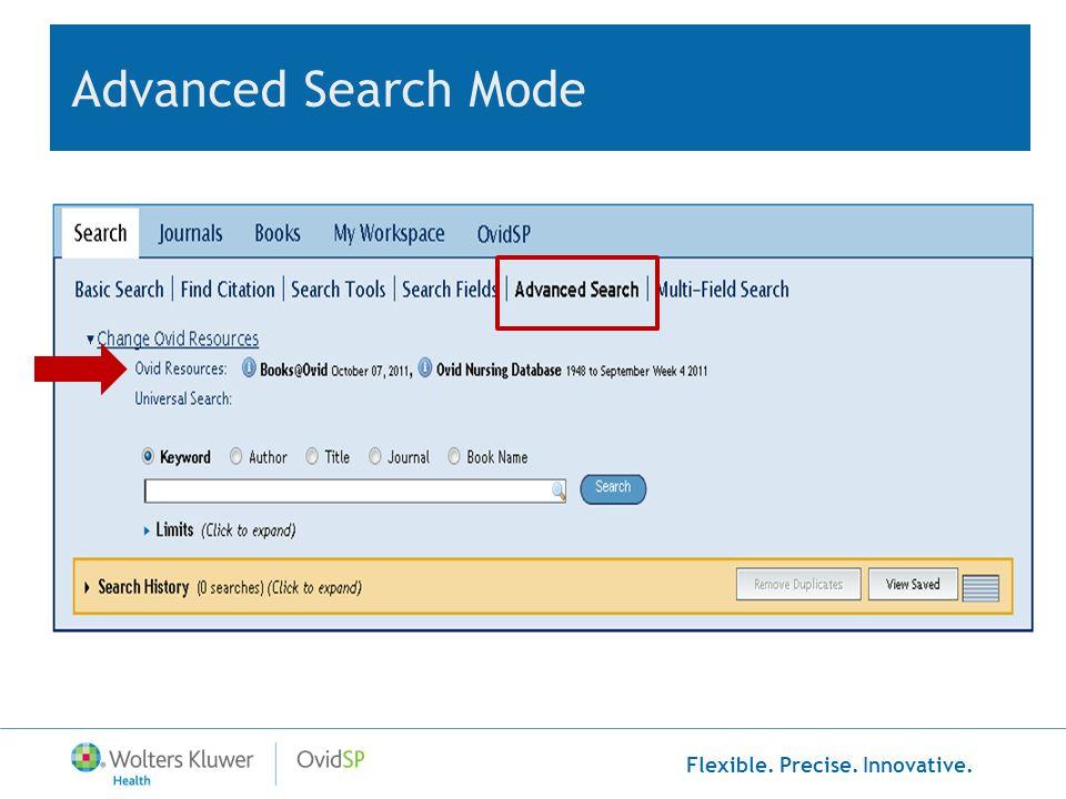 Flexible. Precise. Innovative. Multi-file Search Results