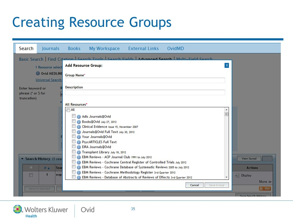 35 Creating Resource Groups