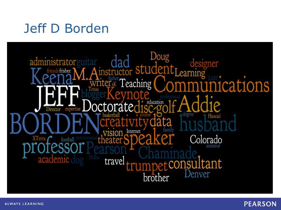 Jeff D Borden