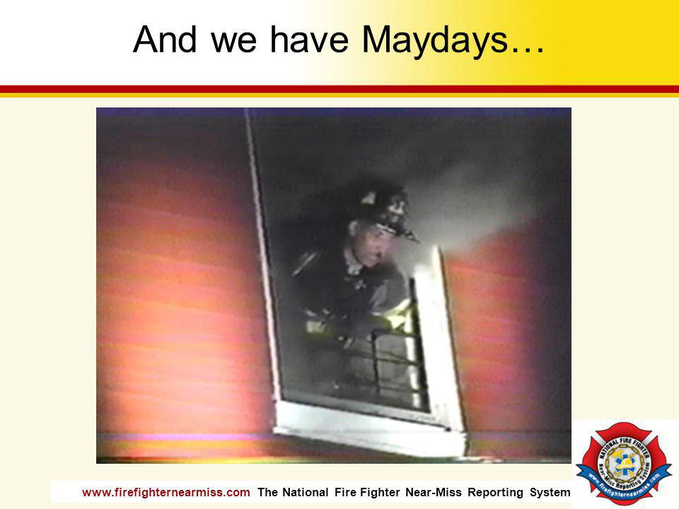 www.firefighternearmiss.com The National Fire Fighter Near-Miss Reporting System Some days are dramatic…