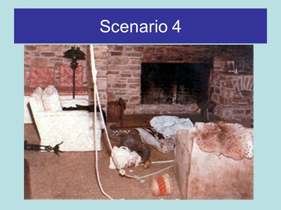 Scenario 4 Have you run an incident like this before.