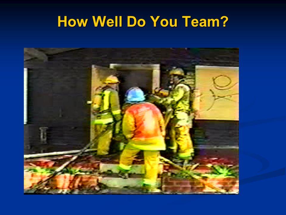 How Well Do You Team?