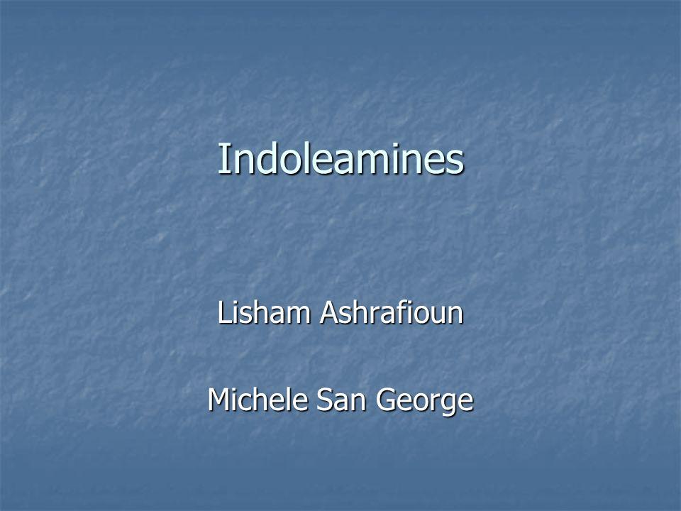 Indoleamines Lisham Ashrafioun Michele San George