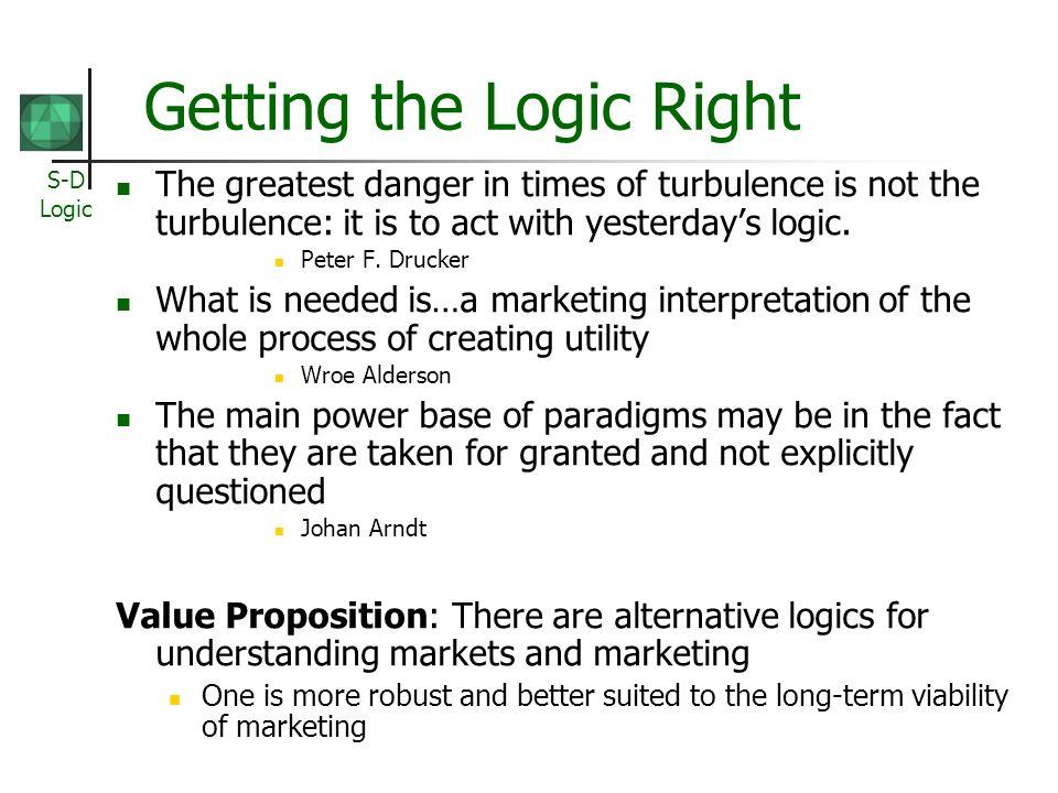S-D Logic 33 Why Service.