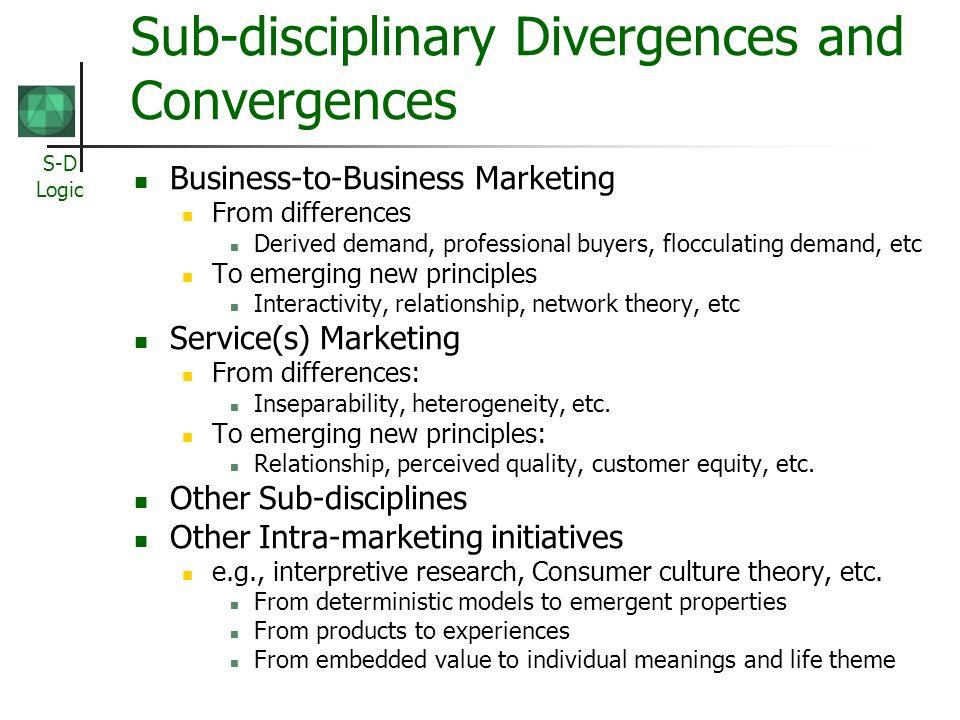 S-D Logic Invited Commentaries: Day, Deighton, Narayadas, Gummesson,Hunt, Prahalad, Rust, Shugan Vargo & Lusch (2004) observe that an evolution is underway toward a new dominant logic for marketing.