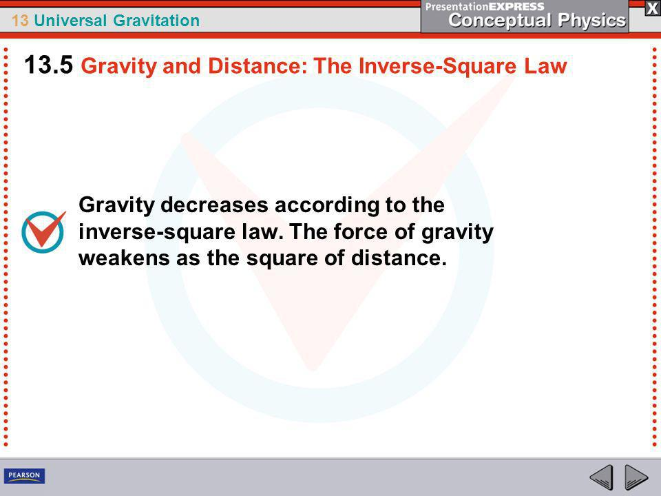 13 Universal Gravitation Consider an imaginary butter gun for buttering toast.