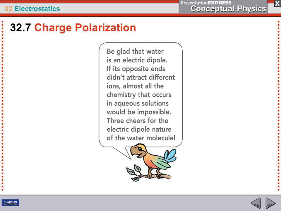 32 Electrostatics 32.7 Charge Polarization