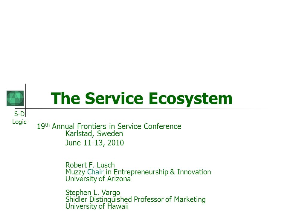 Exchange Systems …