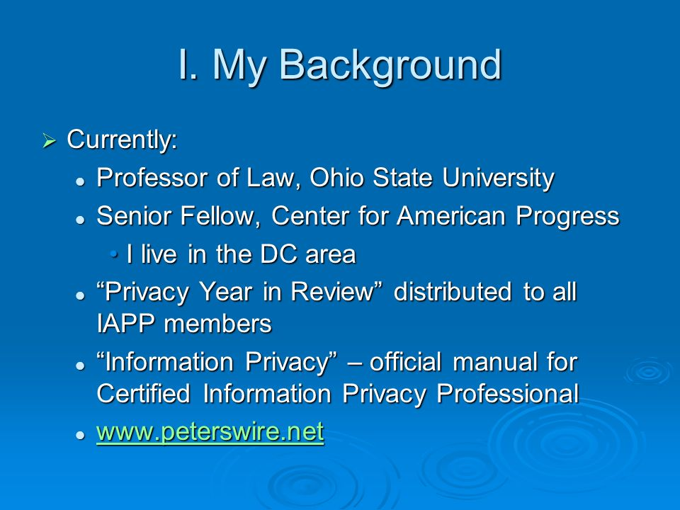Recommendation 1 Public access to core information Public access to core information Core information includes fact an individual has filed, type of bankruptcy proceeding, identities of parties in interest Core information includes fact an individual has filed, type of bankruptcy proceeding, identities of parties in interest